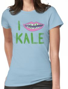 I Heart Kale Womens Fitted T-Shirt