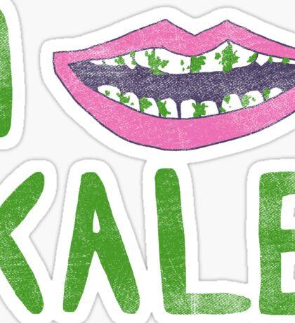 I Heart Kale Sticker