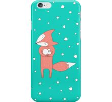 I Love Snow iPhone Case/Skin