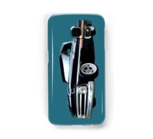65 Chevy C-10 Stopping at Roy's on Route 66 Samsung Galaxy Case/Skin