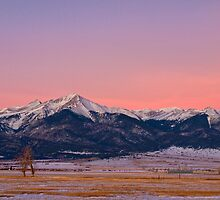 Sangre De Cristo Moon by Paul Gana