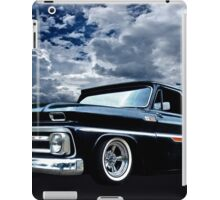 65 Chevy C-10 Stopping at Roy's on Route 66 iPad Case/Skin