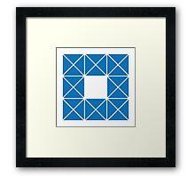 Design 9 Framed Print