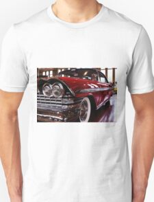 Red Plymouth Fury. Unisex T-Shirt