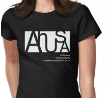 AHUSA White Womens Fitted T-Shirt