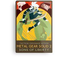 Metal Gear Solid 2: Sons of Liberty Metal Print