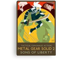 Metal Gear Solid 2: Sons of Liberty Canvas Print