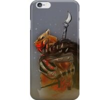 Smilodon Hunter iPhone Case/Skin