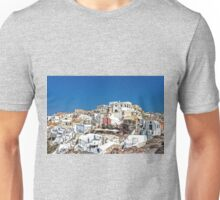 Living in Oia Unisex T-Shirt