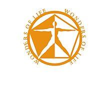 Wonders of Life Logo Photographic Print