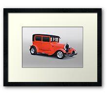 1928 Ford Model A Tudor Sedan Framed Print