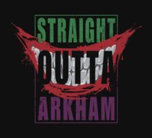 Straight Outta Arkham by Manoly