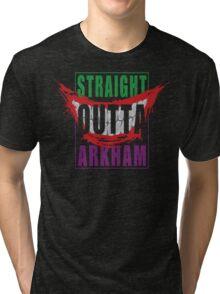 Straight Outta Arkham Tri-blend T-Shirt