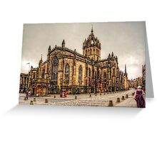 High Kirk of Edinburgh Greeting Card