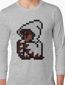 Final Fantasy - White Mage - CRT (Render) Long Sleeve T-Shirt