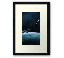 Delta Halo Framed Print