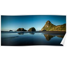 Sugar loaf Islands, New Plymouth - NZ Poster