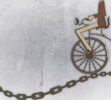 Ordinary Bicycle Man Sticker