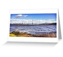 New Forth Crossing - 3 March 2015 Greeting Card