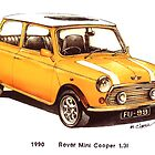 1990 Rover Mini Cooper Car by mrclassic