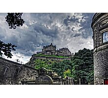 The Castle from St Cuthberts Photographic Print