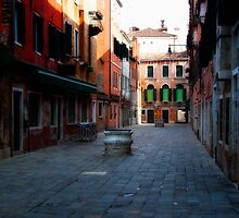 Venice Side Street by Kurt Golgart