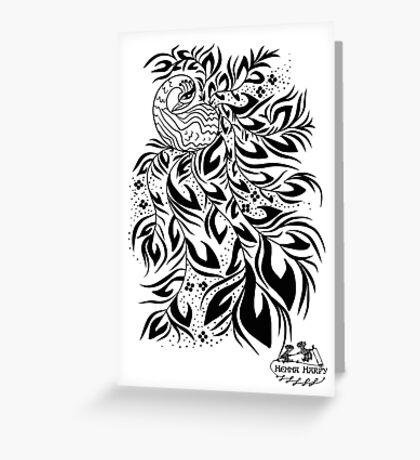 Peacock #4 Greeting Card