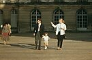 Visitors to Versailles 19570914 0038  by Fred Mitchell