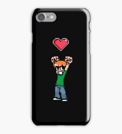 Did it all to win her (8bit) heart iPhone Case/Skin