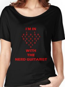 I'm In Love With The Nerd Guitarist Women's Relaxed Fit T-Shirt