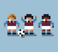 Sensi Tee - Villains, Hammers and Clarets by design-jobber