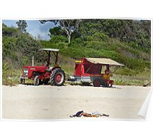 Beach Rescue: Iluka Lifeguard Poster