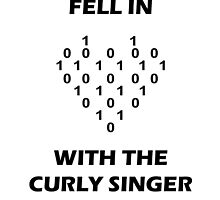 Fell In Love With The Curly Singer by ildotch