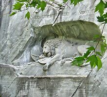 Lion of Lucerne by Margaret Stevens
