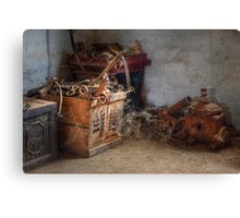 Wonderful bits and bobs ~ Monte Cristo, Junee NSW Canvas Print