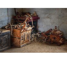 Wonderful bits and bobs ~ Monte Cristo, Junee NSW Photographic Print