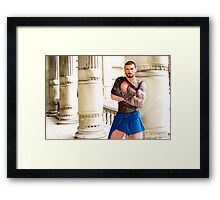 Stuart Reardon - The Gladiator Framed Print