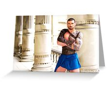 Stuart Reardon - The Gladiator Greeting Card