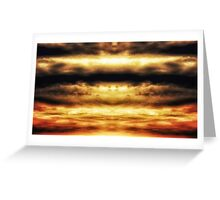 Abstract Sky 3 Greeting Card