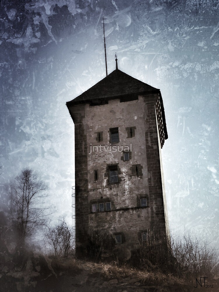 Dürrenbühl tower in Bourguillon (Fribourg) by jntvisual