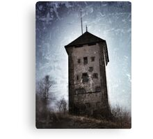 Dürrenbühl tower in Bourguillon (Fribourg) Canvas Print
