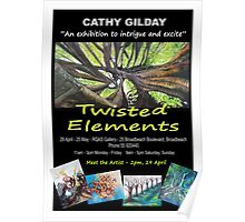 Twisted Elements  Poster