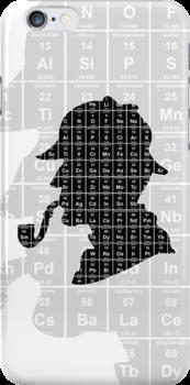 Sherlock 'Elementary' iPhone case by Neil Davies