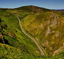 Mam Tor and Winnats Pass by Darren Burroughs