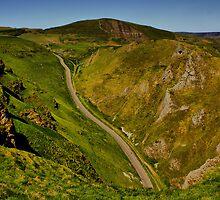 Mam Tor and Winnats Pass by Darren Burroughs