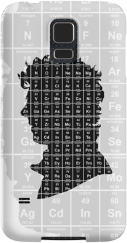Sherlock 'Elementary' iPhone case 2 by Neil Davies