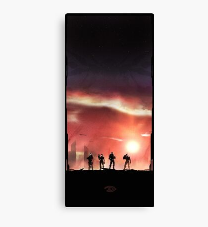 Fireteam Osiris Canvas Print