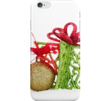 Christmas Ornaments Balls Gift Contemporary iPhone Case/Skin
