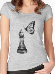 Rules: Bishop and Butterfly Women's Fitted Scoop T-Shirt
