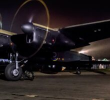 "Avro Lancaster B.VII NX611 G-ASXX ""Just Jane"" at Night Sticker"